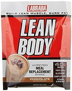 Amazon.com: Labrada Nutrition Lean Body Hi-Protein Meal Replacement Shake, Chocolate Ice Cream