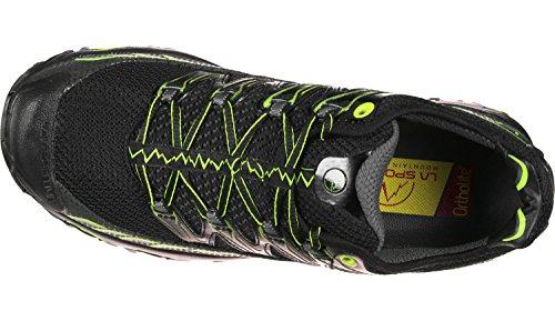 La Sportiva Mutant Dames Trail Hardloopschoenen - Ss18 Ultra Raptor Zwart / Appelgroen Talla: 41