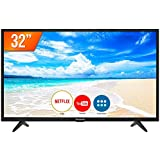 "Smart TV LED HD 32"" Panasonic Media Player 2 HDMI 2 USB TC-32FS500B"