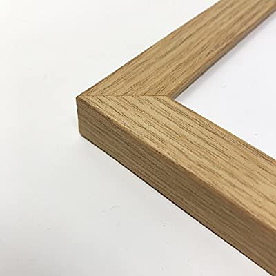 A5 // 14.8x21cm Oxford Oak Wood Effect Photo Frame GLASS Window Thin Picture Certificate Frame Portrait /& Landscape//Width Of Frame 2cm