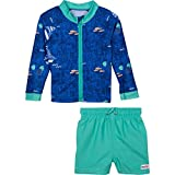 Best SwimZip Bathing suits - SwimZip Baby Boy Zipper Long Sleeve Rash Guard Review