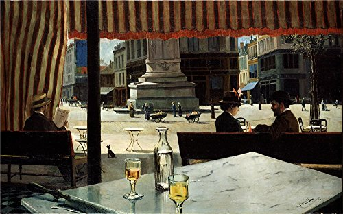 Oil Painting 'Meifren Roig Eliseo Plaza De Paris 1887 ' Printing On High Quality Polyster Canvas , 18 X 29 Inch / 46 X 73 Cm ,the Best Gym Decor And Home Decoration And Gifts Is This Beautiful Art Decorative Canvas Prints