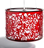 Trans Globe Lighting PND-611 RED 37-Inch 4-Light Pendant, Red