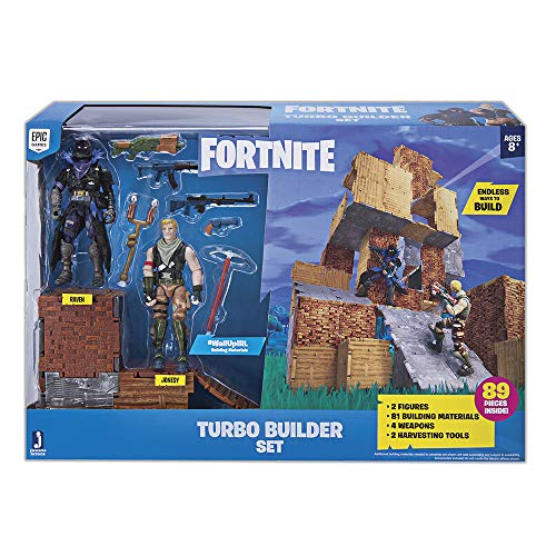 Poseable Action Figure Set - Fortnite Turbo Builder Set 2 Figure Pack