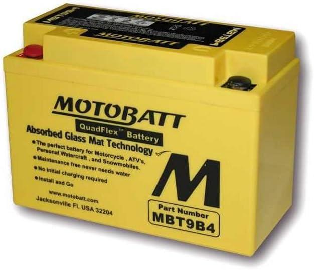 Bater/ía MOTOBATT mbt9b4/12/V 9/Ah 150/x 70/x 104/mm