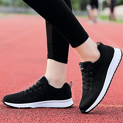 Fitness Mesh Femmes Gym Respirante Sneaker De Noir Lacets Ali Baskets Running 1 amp;boy Sports Chaussure 0fzAzH