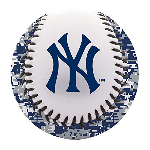 Yankees York Ball New (Franklin Sports MLB New York Yankees Digi Camo Soft Strike Baseball)