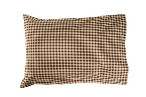 VHC Brands Classic Country Primitive Bedding - Check Pillow