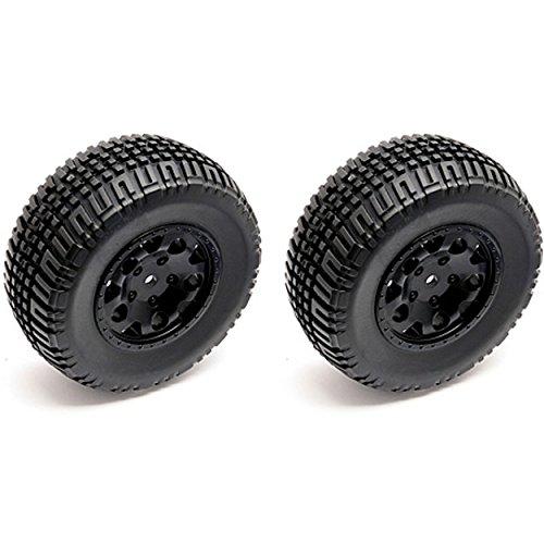 - Team Associated 91104 KMC Hex Wheel/Tire, Black