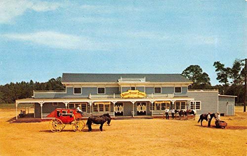 Ocean City Maryland Frontier Town Gold Nugget Vintage Postcard K7876377