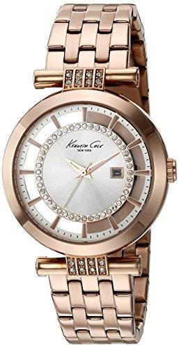 Kenneth Cole New York Women's 10021106 Transparency Digital Display Japanese Quartz Rose Gold Watch (Kenneth Cole Watches Rose Gold)