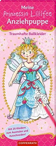 Meine Prinzessin-Lillifee-Anziehpuppe. Traumhafte Ballkleider (Allemand) Relié – 1 février 2018 Monika Finsterbusch Coppenrath F B0785MQF6Q empfohlenes Alter: ab 7 Jahre