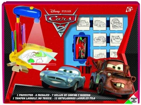Multiprint Disney Cars - Proyector para Dibujar y Juego de ...