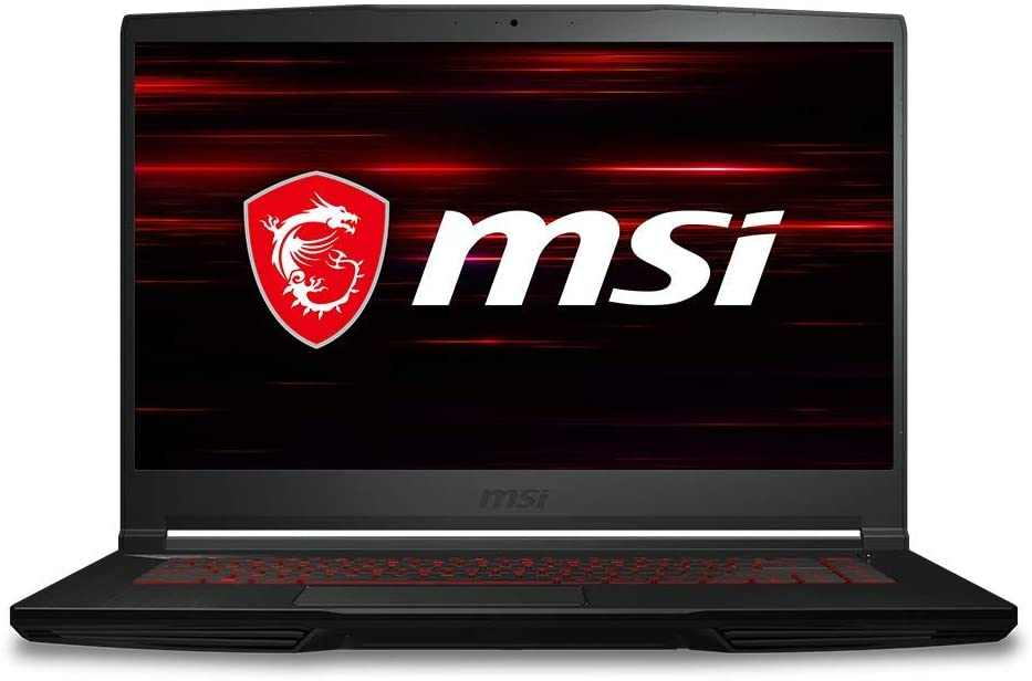 "MSI GF63 Thin 9SC-614 15.6"" Gaming Laptop, Intel Core i5-9300H, NVIDIA GTX 1650, 8GB, 512GB NVMe SSD, Win10 (Renewed)"