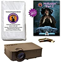 AtmosFearFX Hollusion 2 Compilation Video - 1900 Lumen Projector Kit on USB. Includes effects from Ghostly Apparitions, Macabre Manor, Phantasms and Witching Hour