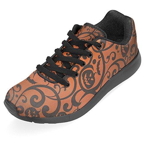 Interestprint Mujeres Jogging Running Sneaker Ligero Go Easy Walking Casual Comfort Zapatillas De Running Multi 22