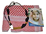 Desert Dress Childs Kids Boys Shemagh Scarf and Igal Set Pack Gift (Red)