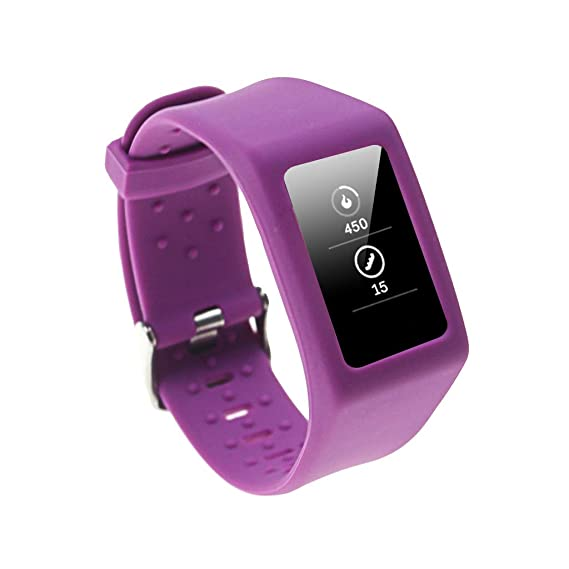 Amazon.com: BYNNIX Smart Watch Bracelet for Fitbit Charge 3 ...