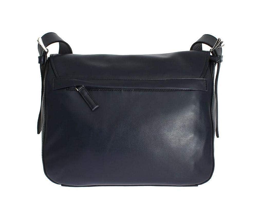 402749df0545 Amazon.com  Prada Soft Baltic Blue Calfskin Leather Messenger Bag BT953L   Shoes