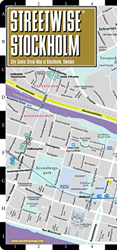 Streetwise Stockholm Map - City Center Street Map of Stockholm, Sweden (Streetwise (Streetwise Maps))