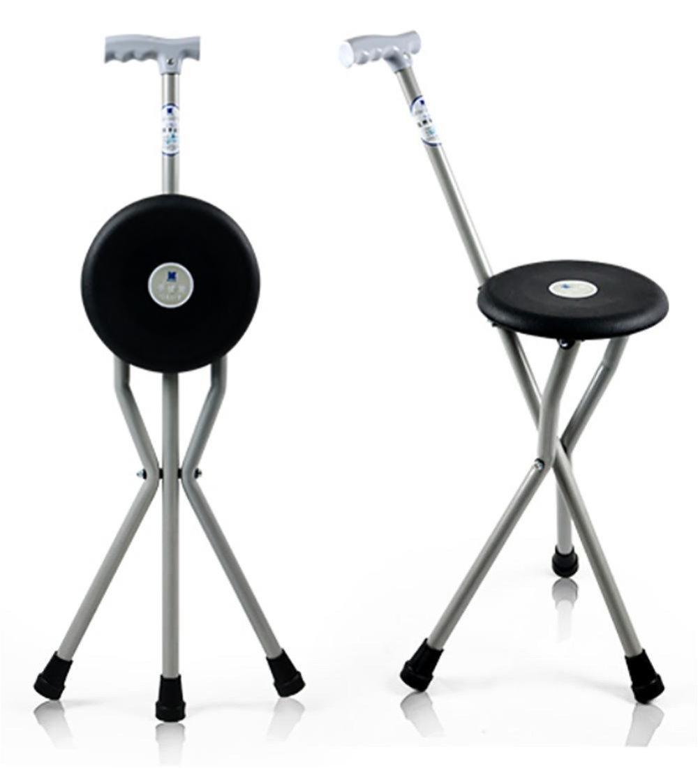 【★安心の定価販売★】 dsfghe x three-legged Crutches Folding Cane 84 Seat Old Man松葉杖スツール折りたたみ三脚高さ調節可能の杖のSeat Whe dsfghe Old Man Walking Stick Stoolウォーカー軽量松葉杖Stools 84 x 51 x 22 cm B07DF7NW4Z, スマイルDVD 本店:8cac1f00 --- a0267596.xsph.ru