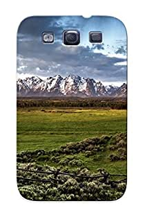High Quality Tpu Case/ Fence On The Field DdvwyMw12695Zwwiu Case Cover For Galaxy S3 For New Year's Day's Gift