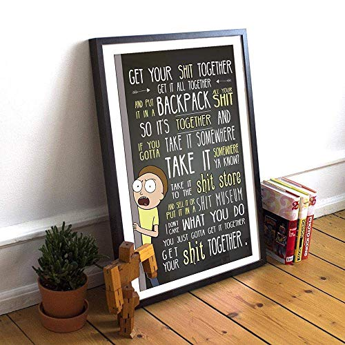 Get Your Sh*t Together Poster; Multiple Sizes