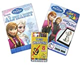 Disney Frozen Learn the Alphabet & Color and Play with Studio Art Twist Crayons