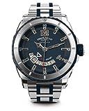 Armand Nicolet Men's A710AGU-BU-MA4710GU S05 Analog Display Swiss Automatic Silver Watch
