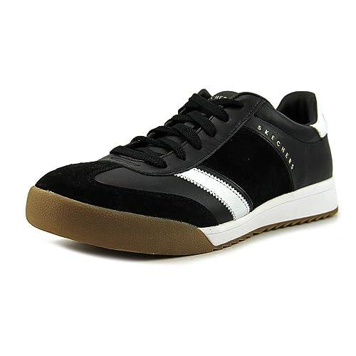 9bf51c17fe4a Skechers Men's Zinger Scobie 52322/BKW Black White: Amazon.ca: Shoes ...