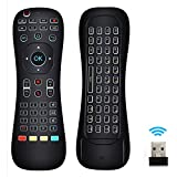universal remote with keyboard - Updated Air Mouse Backlit, LinkStyle 2.4G Wireless Android Kodi Remote Mini Keyboard Infrared Learning Voice Input for Android TV Box XBOX PC Pad Raspberry Pi 3 Android Windows Mac OS Linux