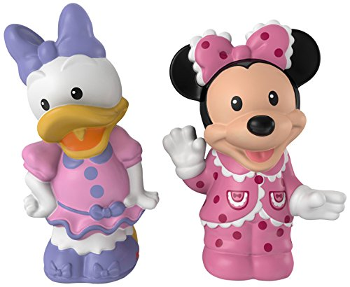 Fisher-Price Little People Magic of Disney Minnie & Daisy Buddy Pack ()