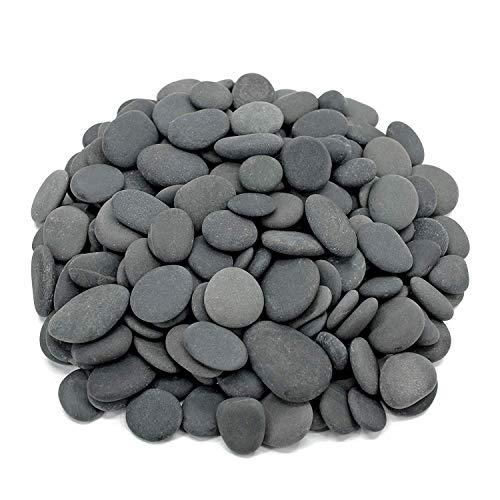 Royal Ram Flat Mexican Beach Pebbles - 3 Pounds Medium Size 1/2