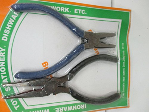 SET OF 2 PCS. LINEMANS & CHAIN NOSE PLIERS ()