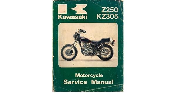 1979 1982 kawasaki z250 kz305 motorcycle service manual kawasaki rh amazon com KTM Duke 250 KTM Duke 390