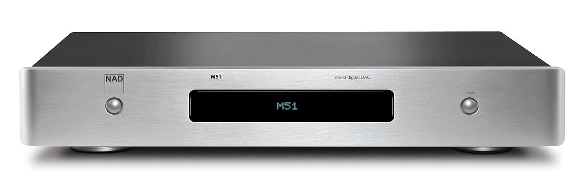 NAD M51 Direct Digital Digital to Analog Converter - Silver by Nad (Image #1)