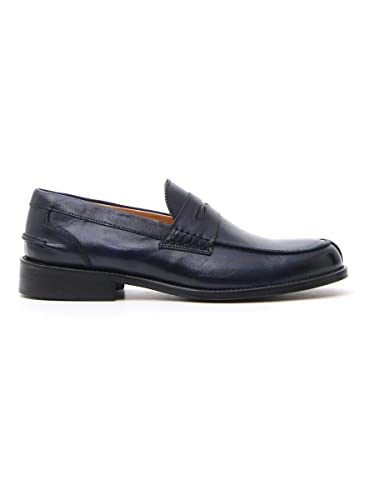 PITTARELLO Mocassini Uomo Blu in Pelle: Amazon.it: Scarpe e