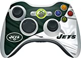 Skinit NFL New York Jets Xbox 360 Wireless Controller Skin - New York Jets Design - Ultra Thin, Lightweight Vinyl Decal Protection