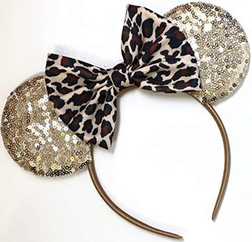Leopard Mickey Ears, Cheetah Mickey Ears, Leopard Minnie Ears, Cheetah Minnie Ears, Minnie Ears, Mickey Ears, Animal Kingdom Ears, -