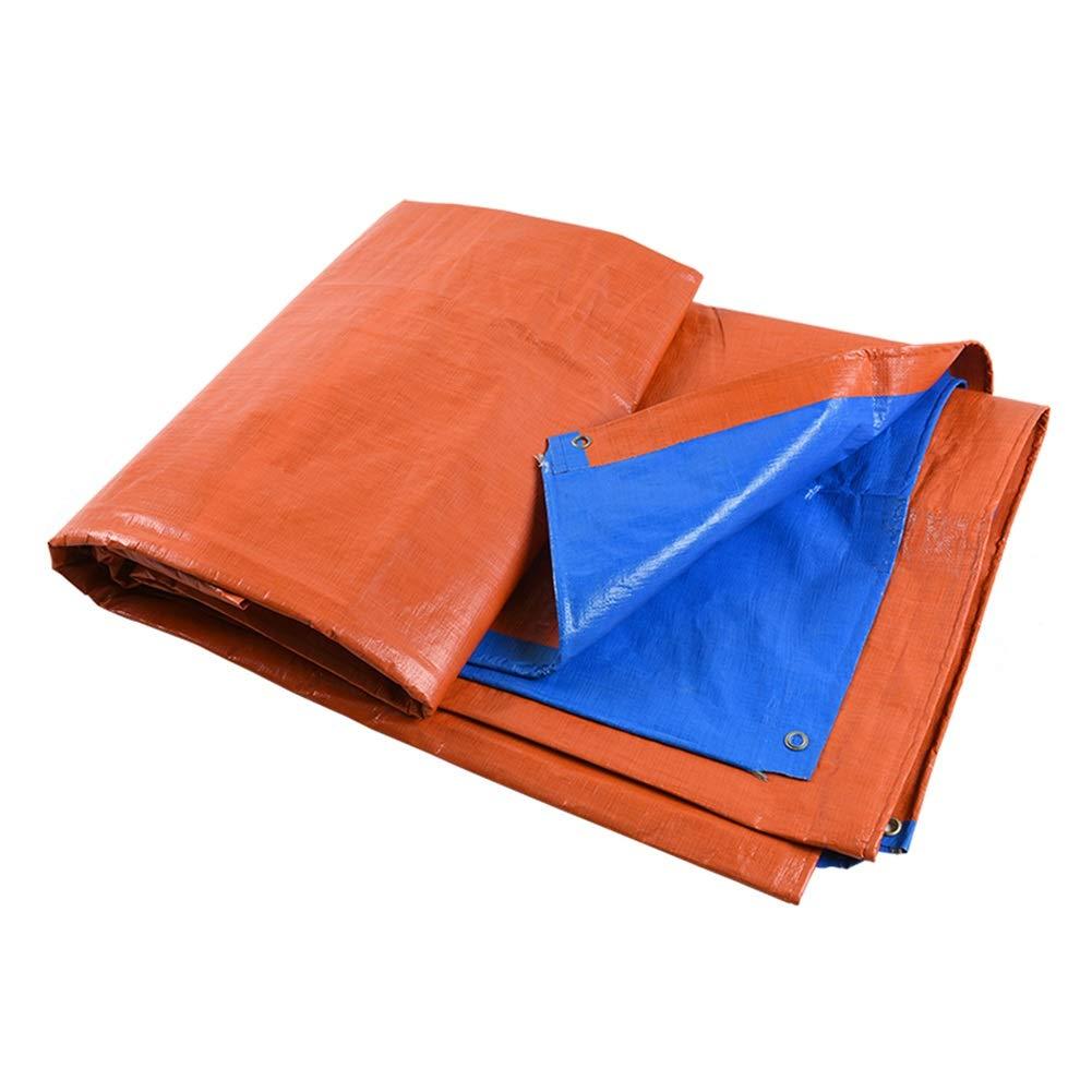 QIDI バイザー布 ターポリン アウトドア シェード 防水 日焼け止め レインターポリン (サイズ さいず : 5 * 7m) 5*7m  B07H9MY71C