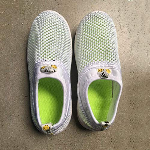 cd86402eeff5c Tronet Infant Kids Baby Boys Girls Fashion Mesh Candy Color Sport Run  Sneakers Casual Shoes Net Shoes White