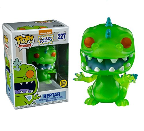 Funko- Figura Pop Rugrats Reptar Glow in The Dark (22576)