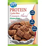 Kay's Naturals Protein Cookie Bites, Cinnamon Almond, Gluten-Free, 1.2 Ounce (Pack of 6)