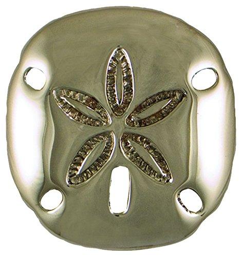 Michael Healy Designs MHR85 Sand Dollar Doorbell Ringer - Nickel Silver,