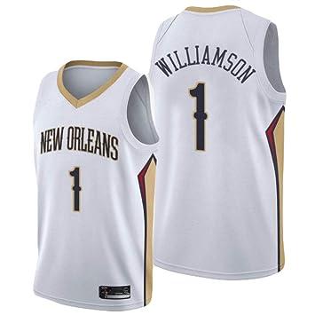 KKSY Camiseta de Baloncesto Hombres Zion Williamson # 1 ...
