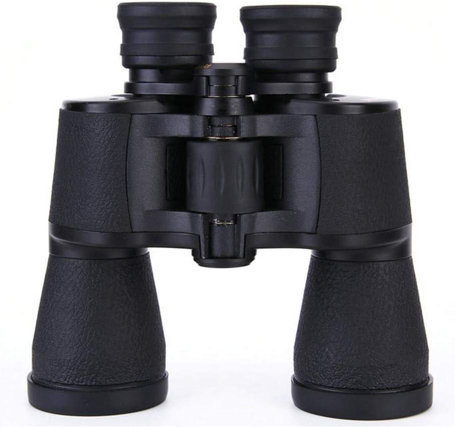 Large Caliber 10X42 Binoculars High Power HD Telescope FAC Broadband Coating Plastic Steel Frame Resistant to Falling Black Waterproof KONGZIR Monocular Binoculars Telescope BAK4 Telescope