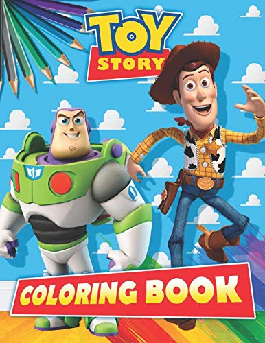- Toy Story Coloring Book: Exclusive 30 Illustrations