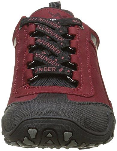 Allrounder by Mephisto Fina-tex - Zapatillas de Entrenamiento Mujer Rot (Black/Mid Red)