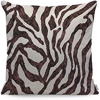 Amazon.com: Funda de almohada de lino suave con diseño de ...
