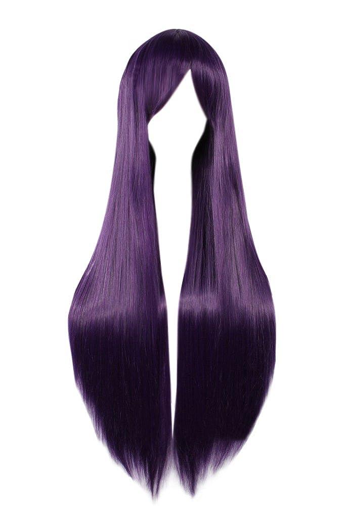 DAZCOS Sailor Mars Hino Rei Straight Purple Cosplay Wig DAZCOS18010412